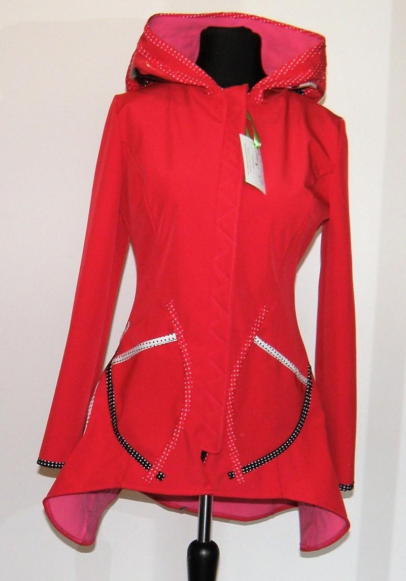 Veste princesse en Softshell rouge T40
